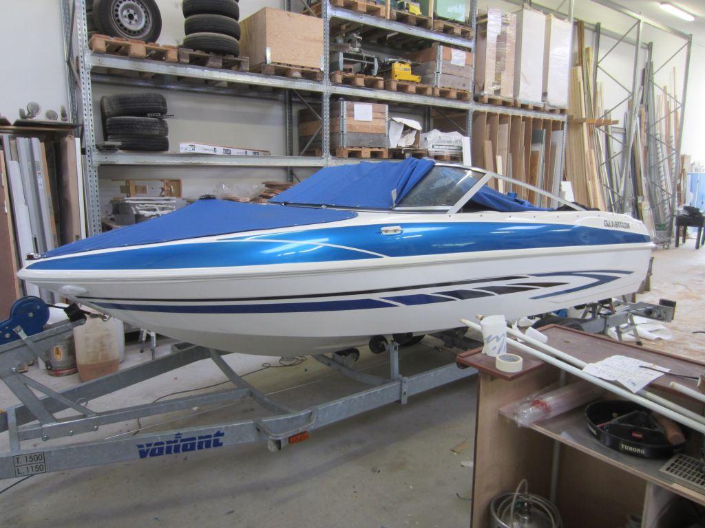 Speedbåd før detaljer
